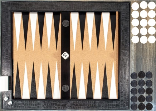 How to set up a backgammon board for standard play and other variations
